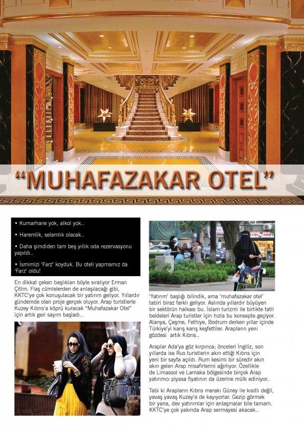 Muhafazakar Otel için proje hazır.. Farz Turizm Yatırım İnşaat Ltd. Yönetim Kurulu Başkanı Erman Çitim, çok konuşulacak projeyi ilk kez Ekonomi Kıbrıs Pres
