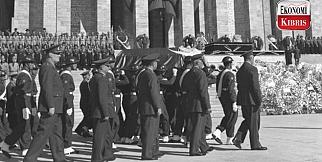 İşte Atatürk'ün Anıtkabir'e yolculuğu..