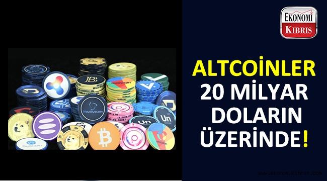 24 saat içinde 20 milyar doların üzerine çıkan altcoinler...