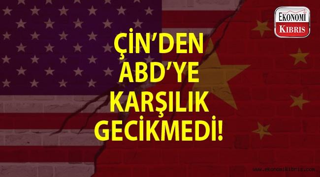 ABD misillemelerine Çin kayıtsız kalmadı...