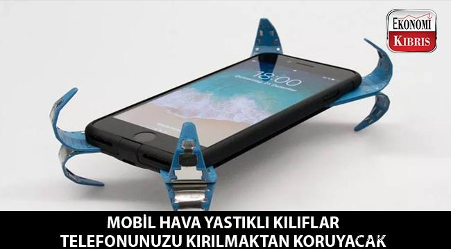 Akıllı kılıflar telefonların kırılmasını önleyecek...