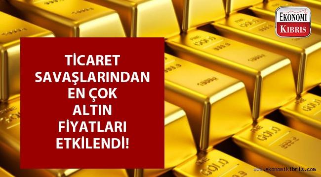 Altın fiyatları düşmeye devam ediyor...