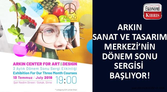 Arkın Sanat ve Tasarım Merkezi'nin sergi etkinlikleri başlıyor...