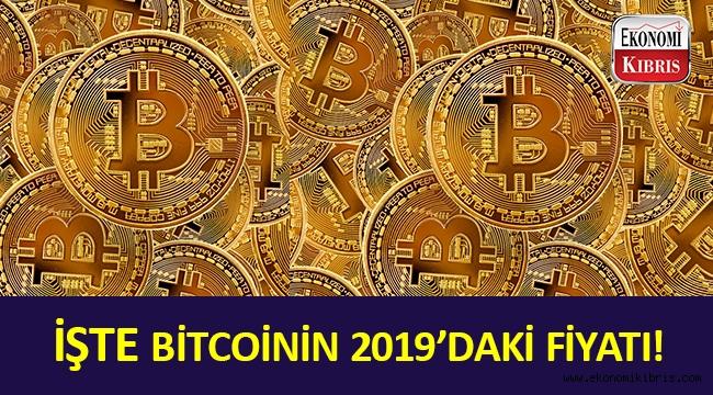 Bitcoinin 2019'daki fiyatı açıklandı!..