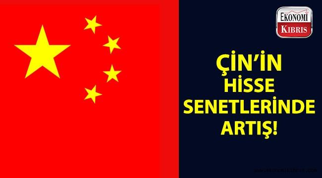 Çin hisse senetleri yükselişte!..