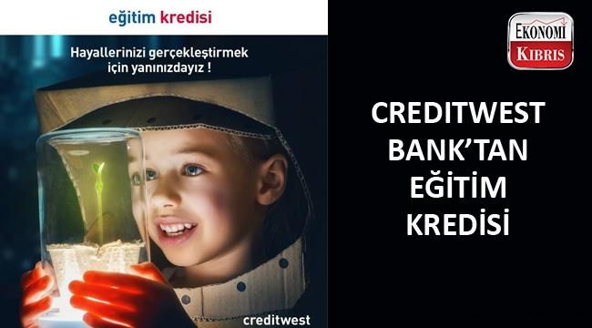 Creditwest Bank eğitim kredisi fırsatı sunuyor...