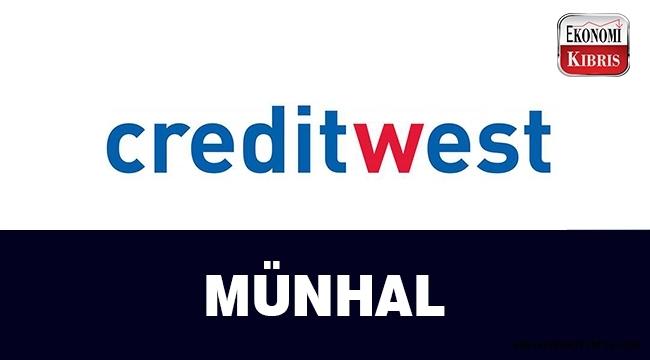 Creditwest Bank münhal açtı...
