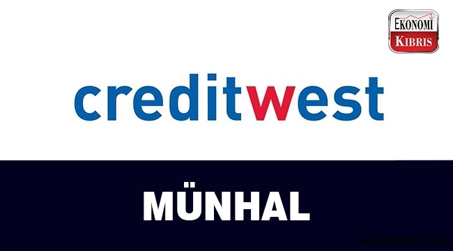 Creditwest Bank, münhal açtı..