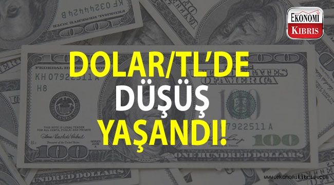 Dolar/TL'de düşüş...