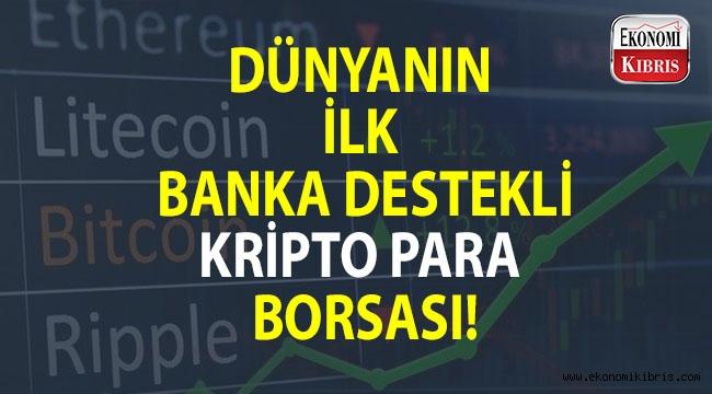 Dünyanın ilk banka destekli kripto para borsası Japonya'dan...