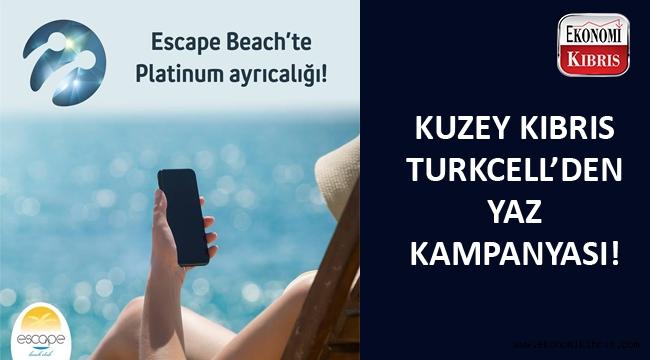 Escape Beach'te KKTCELL ayrıcalığı...