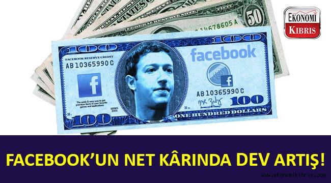 Facebook'un net kârında dev artış!..