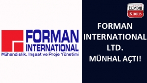 Forman International Ltd. münhal açtı...