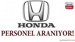 Honda Kıbrıs münhal açtı…