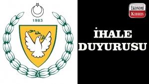 KKTC Maliye Bakanlığı Merkezi İhale Komisyonu Başkanlığından 3 İhale Duyurusu