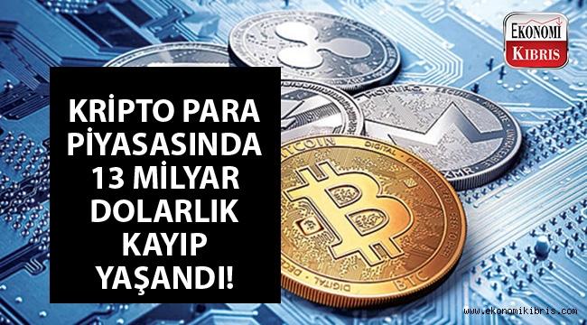 Kripto para piyasasında kritik gerileme...