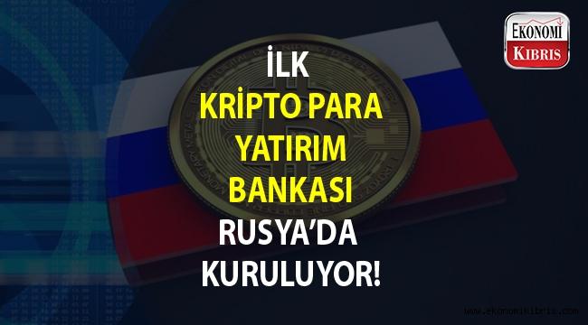 Kripto para yatırım bankası kuruluyor...
