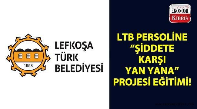 """Lefkoşa Türk Belediyesi personeline, """"Şiddete Karşı Yan Yana"""" projesinin ilk eğitimi verildi..."""