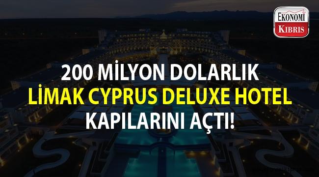 Limak Cyprus Deluxe Hotel açıldı...