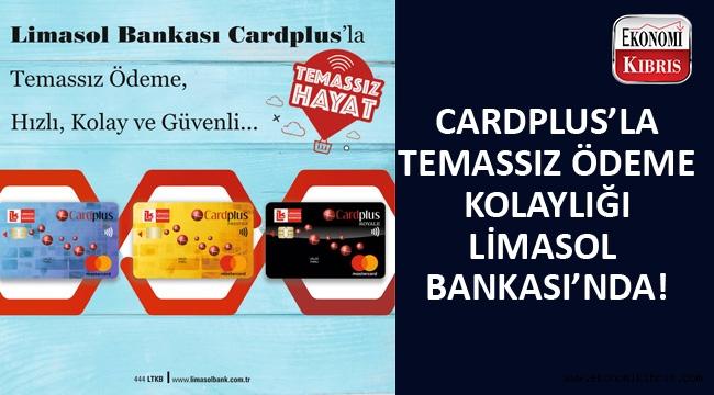 Limasol Bank Card Plus müşterilerine temassız ödeme ile kolaylık sağlıyor...