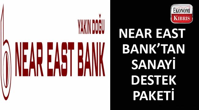 Near East Bank imalat sektörünü destekliyor...