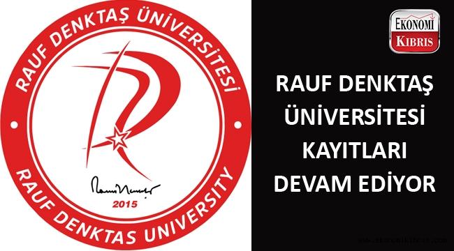 Rauf Denktaş Üniversitesi 2018-2019 öğretim yılı kayıtları devam ediyor...