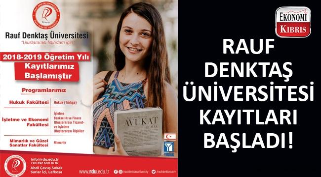 Rauf Denktaş Üniversitesi yeni öğretim yılı için öğrencilerini bekliyor...