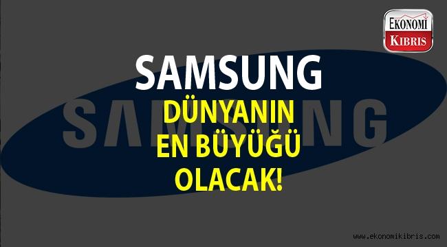 Samsung dünyanın en büyük cep telefonu fabrikasını açıyor...