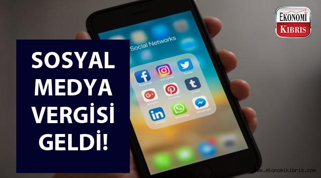 Sosyal Medya vergisi uygulanmaya başlandı...