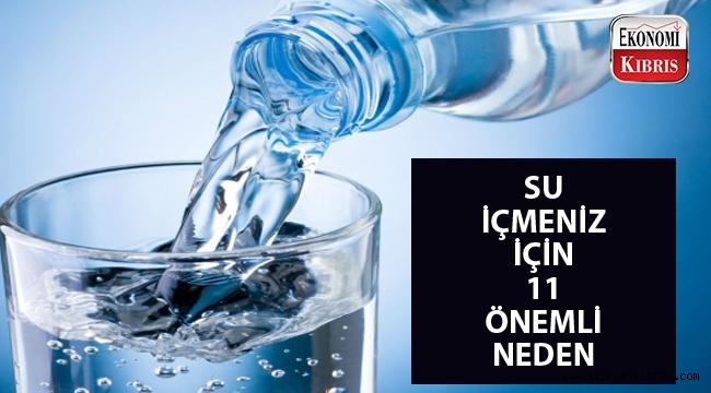 Strese su içerek dur deyin!