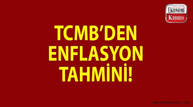 TCMB'den enflasyon tahmini!..