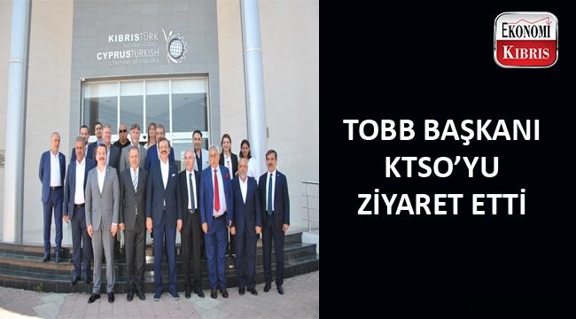 TOBB Başkanı Rifat Hisarcıklıoğlu ve beraberindeki heyet KTSO'yu ziyaret etti...