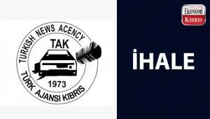 Türk Ajansı Kıbrıs'tan ihale duyurusu...