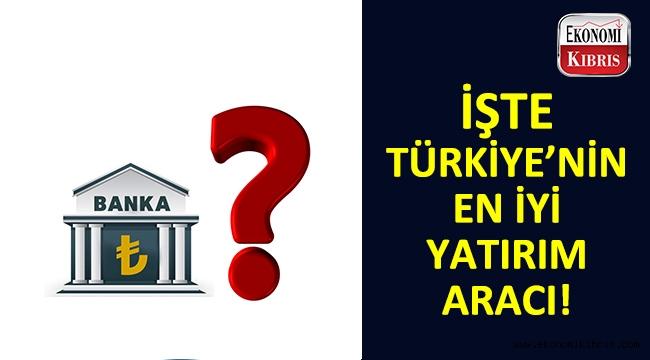 Türkiye'nin en iyi yatırım aracı seçildi...