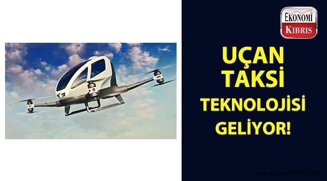 Yeni preje: Uçan Taksi teknolojisi...