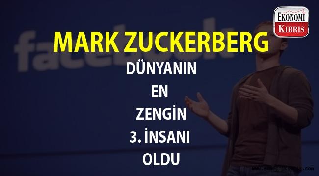 Zuckerberg, Facebook hisselerindeki artış sayesinde servetini katladı...