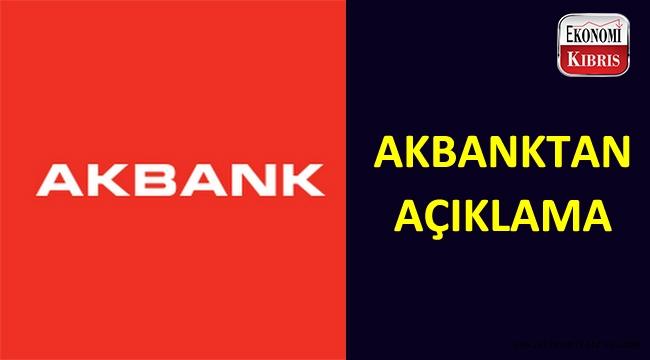 Akbank genel müdürü kriz hakkında açıklamada bulundu.