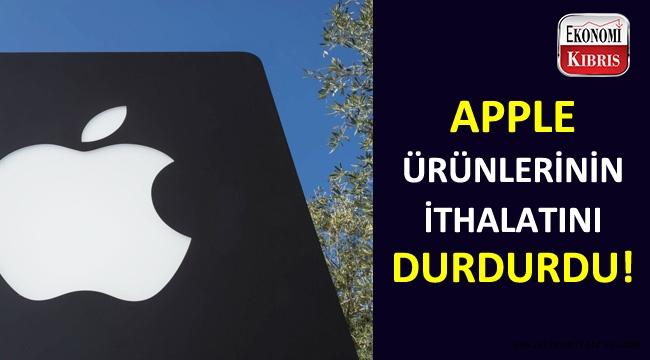 Artık KKTC'ye Apple ithal etmeyecek!