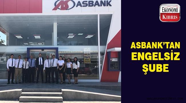 Asbank'tan engelsiz şube..