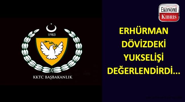 Başbakan Erhürman'dan dövize ilişkin basın açıklaması...