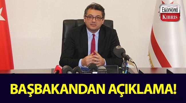 Başbakan Tufan Erhürman'dan açıklama...