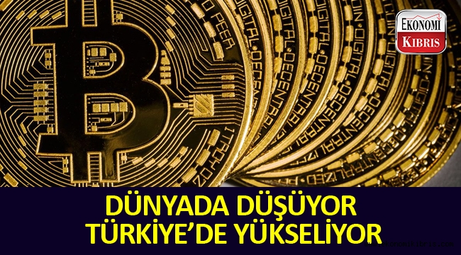 BTC Türkiye'de düşmüyor.