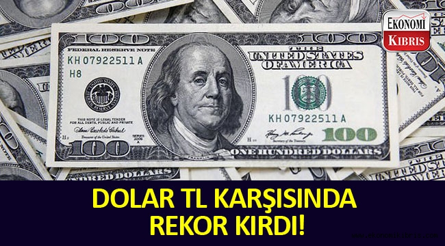 Dolar TL Karşısında Rekor Kırdı!