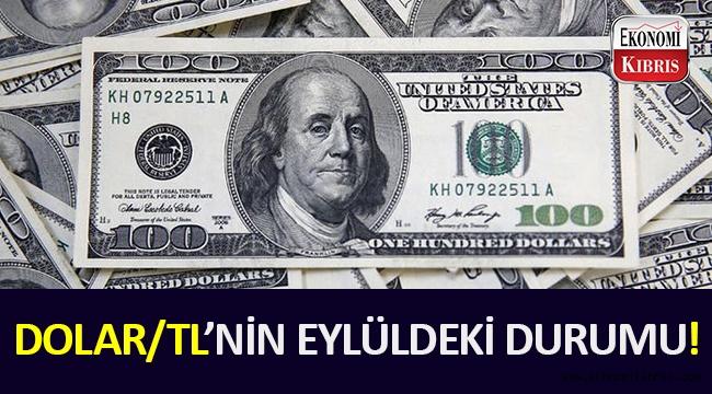 Dolar/TL'nin eylüldeki durumu ne olacak?