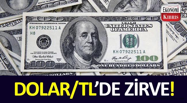 Dolar/TL yine, 5'in üzerinde!..