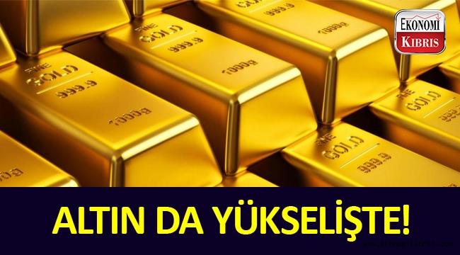 Dolara endeksli olarak altın da yükseliyor.