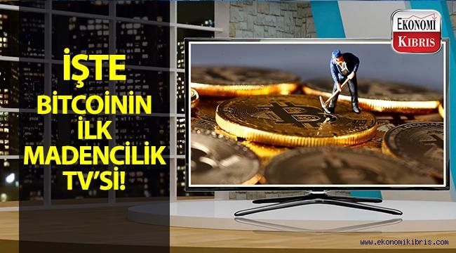 Dünyanın ilk Bitcoin madencilik televizyonu tanıtıldı!..
