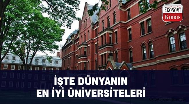 İşte dünyanın en iyi üniversiteleri..