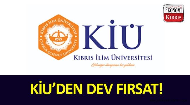 Kıbrıs İlim Üniversitesinden inanılmaz fırsat!