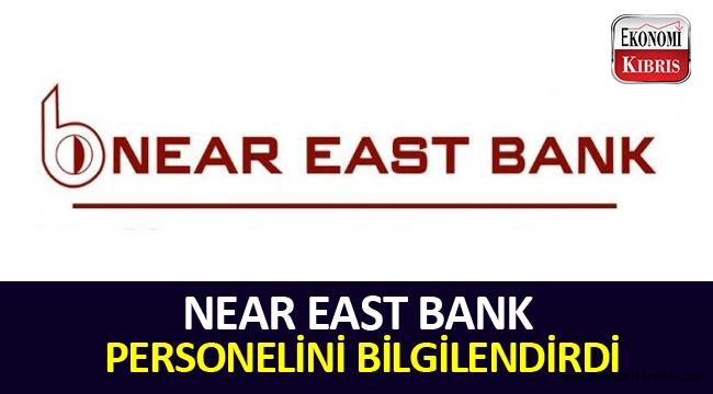 Near East Bank, personelini esnaf ve KOBİ kredisi hakkında bilgilendirdi.
